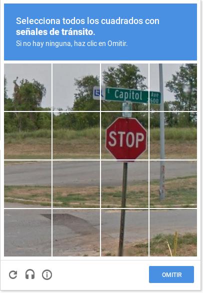 Cada uno de nosotros llenamos la base de señales de tránsito de Google